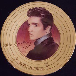 1996 Elvis Collector Plate, Jailhouse Rock
